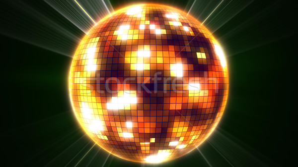 Mirror disco ball. Stock photo © klss
