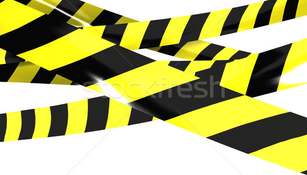 Barrier tape. Stock photo © klss