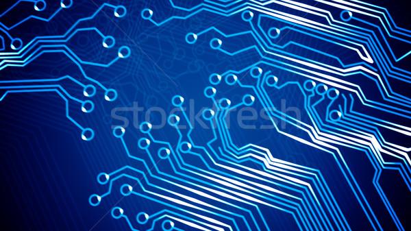 аннотация плате иллюстрация компьютер текстуры дизайна Сток-фото © klss