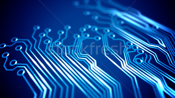 Circuit board abstract circuit computer ontwerp industrie Stockfoto © klss