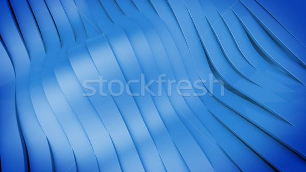 Wavy band surface Stock photo © klss