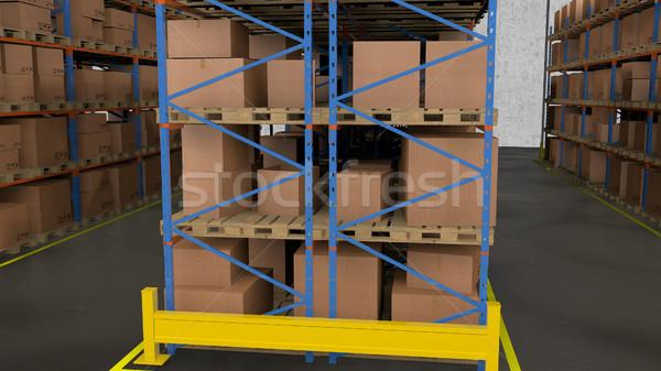 棚 ボックス 商業 倉庫 商業ビル ストックフォト © klss