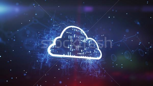 Cloud System Technology Concept Stock photo © klss