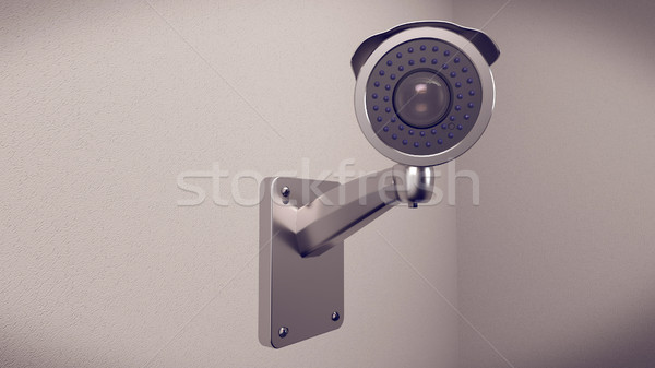 Private property protection. Stock photo © klss