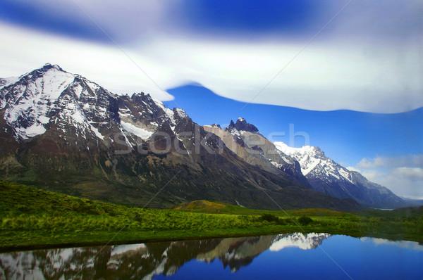 Resim Arjantin doğa deniz kar buz Stok fotoğraf © klublu