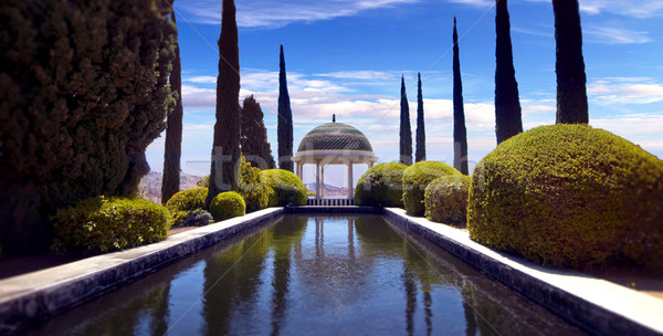Conception garden, jardin la concepcion in Malaga (Spain)  Stock photo © klublu