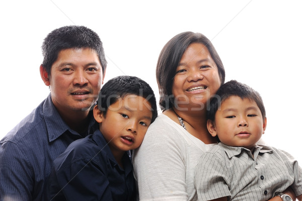 Filipino family Stock photo © KMWPhotography