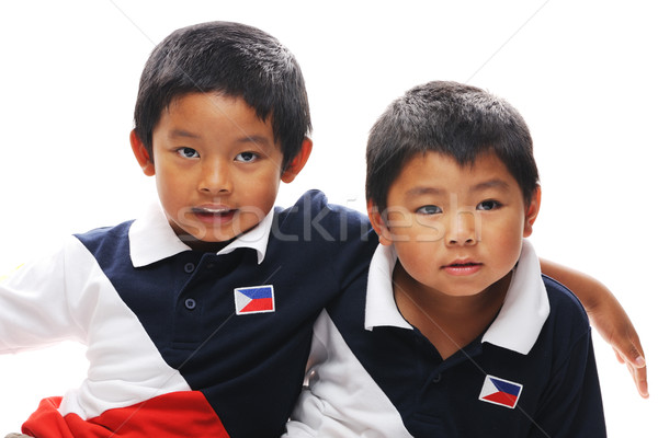 Filipino Brothers Stock photo © KMWPhotography