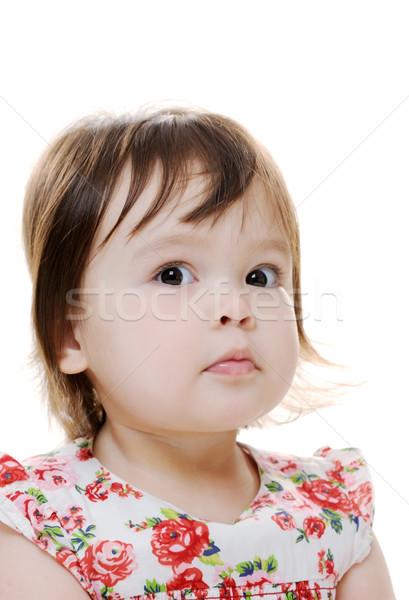 удивленный ребенка женщины портрет Сток-фото © KMWPhotography