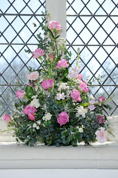 цветы Церкви цветок свадьба Сток-фото © KMWPhotography
