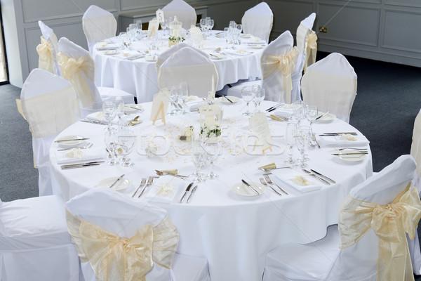 Decoratie tabel decoraties bril Stockfoto © KMWPhotography