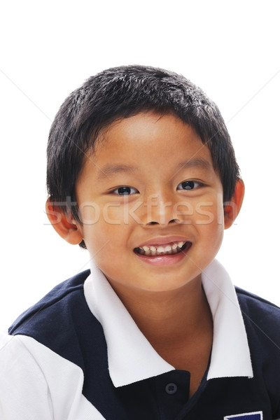 Filipino Boy Smiling Stock photo © KMWPhotography
