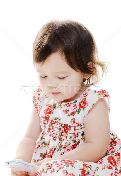 ребенка портрет девочку девушки Сток-фото © KMWPhotography