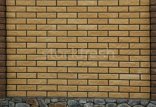brick wall background Stock photo © koca777