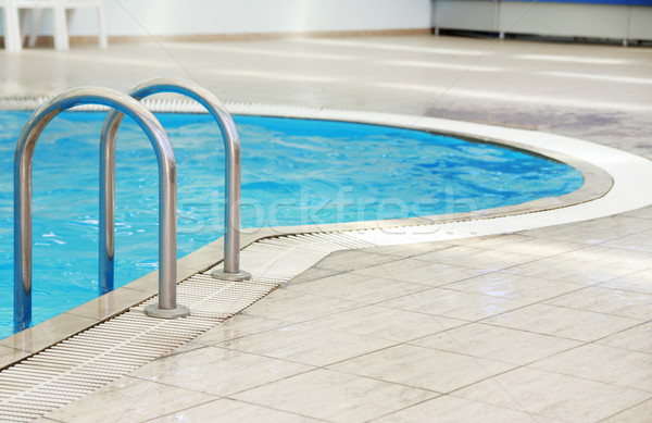 Adımlar su havuz sağlık spor yaz Stok fotoğraf © koca777