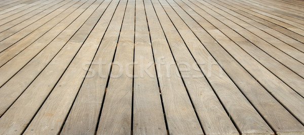 Stage wood natural background Stock photo © koca777