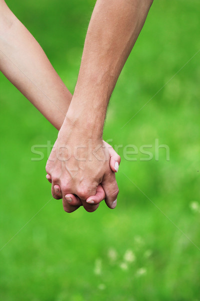 two arms of lovers Stock photo © koca777