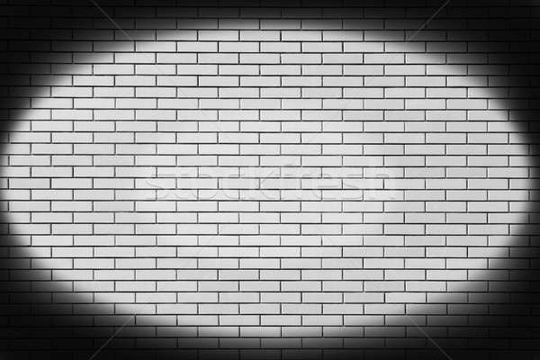 new  brick wall in a background image Stock photo © koca777