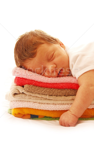 Bir sevimli küçük bebek Stok fotoğraf © koca777