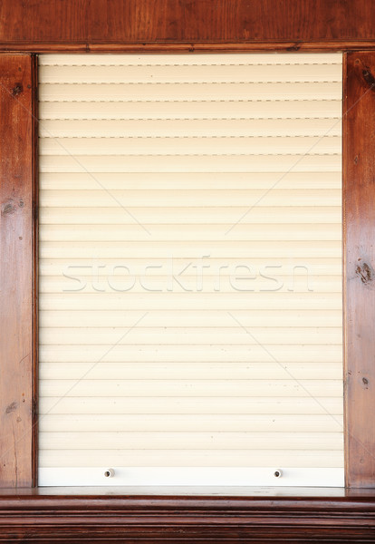 shutters on the shop window Stock photo © koca777