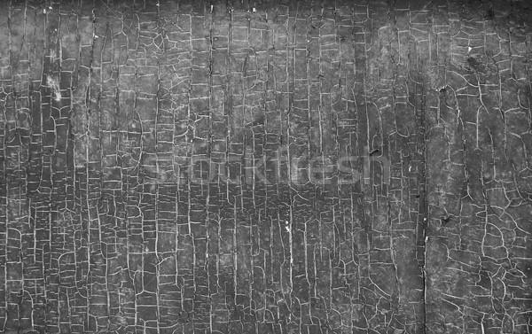 Pintura edad pared gris casa fondo Foto stock © koca777