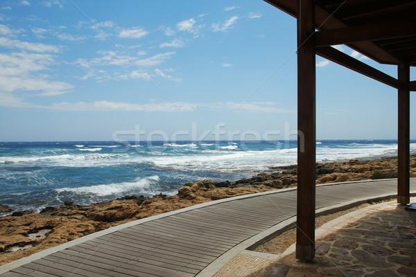 footpath on the beach Stock photo © koca777