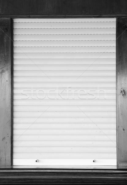 Shop finestra ufficio costruzione home Foto d'archivio © koca777