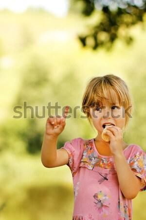 girl with soap bubbles Stock photo © koca777