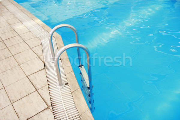 steps in a water pool Stock photo © koca777