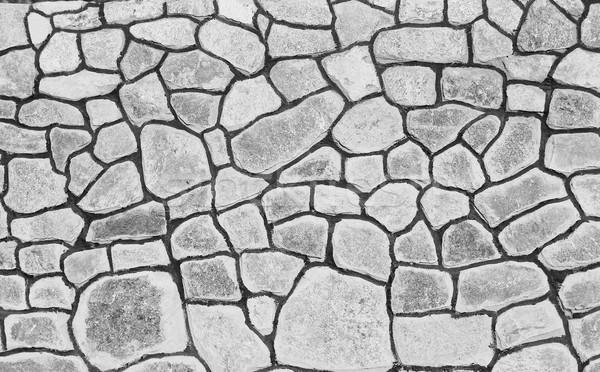 Taş duvar gri inşaat duvar soyut dizayn Stok fotoğraf © koca777
