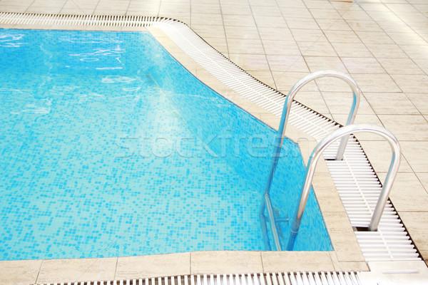 étapes eau piscine santé sport été Photo stock © koca777