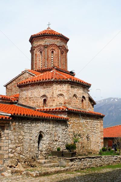 st.Naum church, Macedonia Stock photo © kokimk