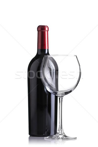 şişe boş cam yalıtılmış odak Stok fotoğraf © kokimk