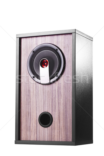 wooden speaker box Stock photo © kokimk