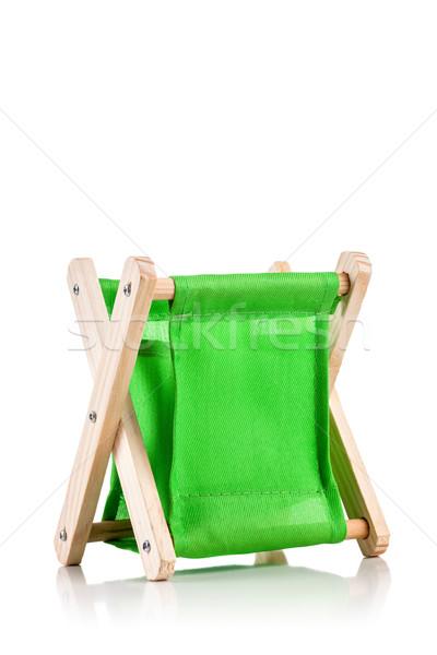 Yeşil tekstil okul kalem durum Stok fotoğraf © kokimk
