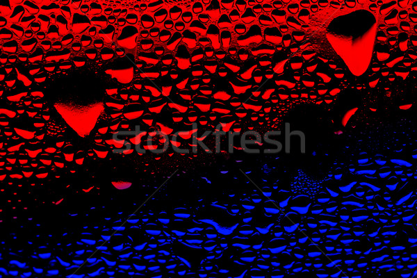 colored water drops Stock photo © kokimk