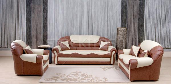 luxury sofa Stock photo © kokimk