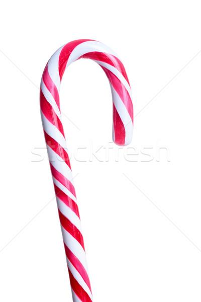 şeker bar kırmızı yalıtılmış beyaz çocuklar Stok fotoğraf © kokimk