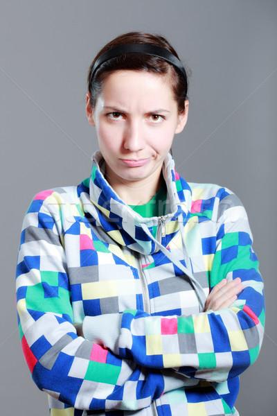 girl with expression Stock photo © kokimk