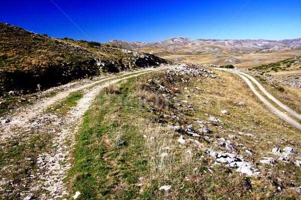 Paisaje Macedonia región montana verano rock Foto stock © kokimk
