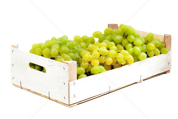 виноград окна зрелый зеленый виноград Сток-фото © kokimk