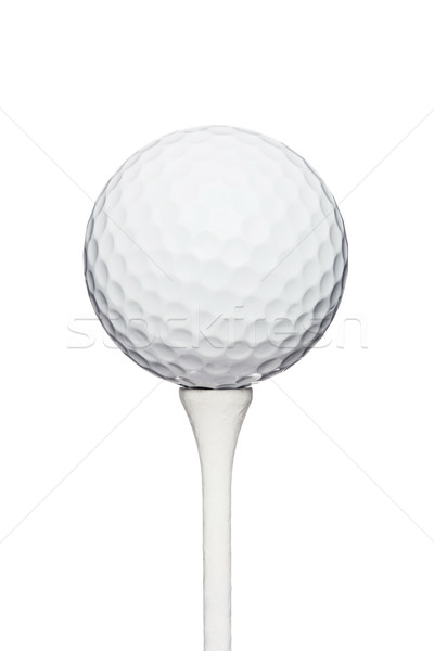 golf ball on a tee Stock photo © kokimk