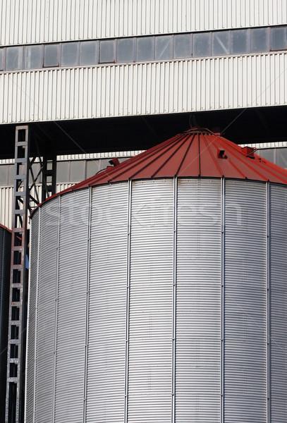 grain silo Stock photo © kokimk