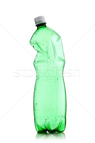 smashed water bottle Stock photo © kokimk