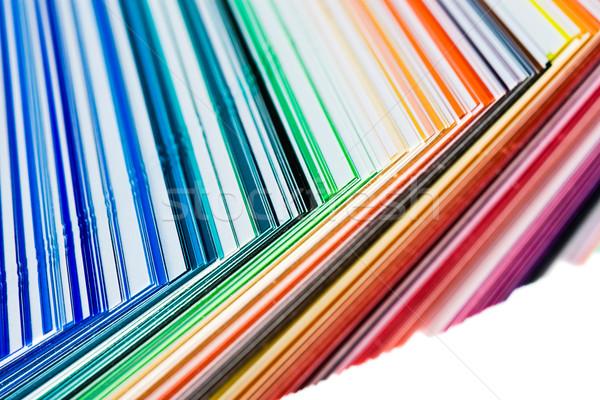 color swatch Stock photo © kokimk