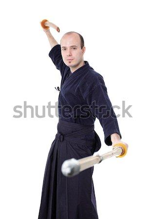 Kendo fighter Stock photo © kokimk