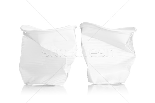 two plactic cups Stock photo © kokimk