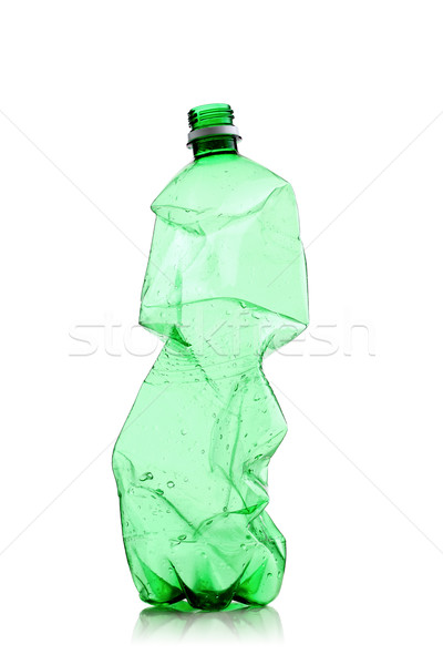 smashed water bottle Stock photo © kokimk