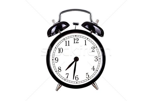 Bağbozumu saat stil zarif beyaz zaman Stok fotoğraf © kokimk