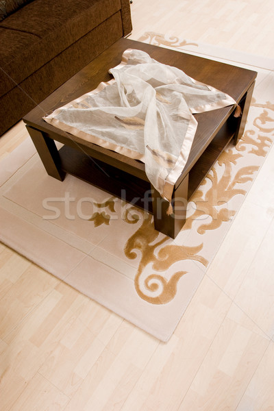 Abstrato luxo sala de estar tiro moderno casa Foto stock © kokimk